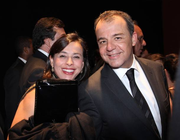 Sérgio Cabral e Adriana Ancelmo