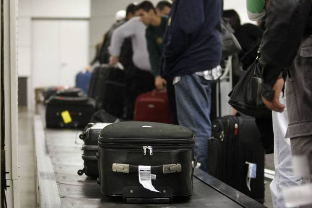 política de bagagens