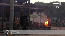 Incêndio está fora de controle na Espanha