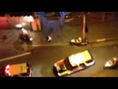 Jovem é atropelada por viatura da PM em São Paulo