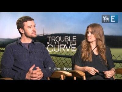 "Justin Timberlake e Amy Adams falam sobre ""Curvas da Vida"""