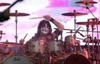 Erick Singer durante show da banda Kiss na Arena Anhembi. Foto: JF Diório/Estadão