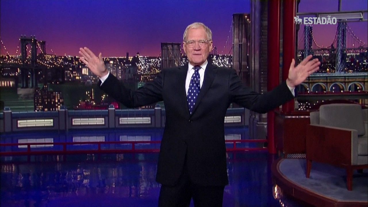 David Letterman se despede da TV