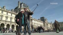 Paus de selfie proibidos em museus