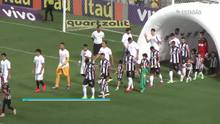 Atlético-MG empata com Santos por 2 a 2; veja os gols