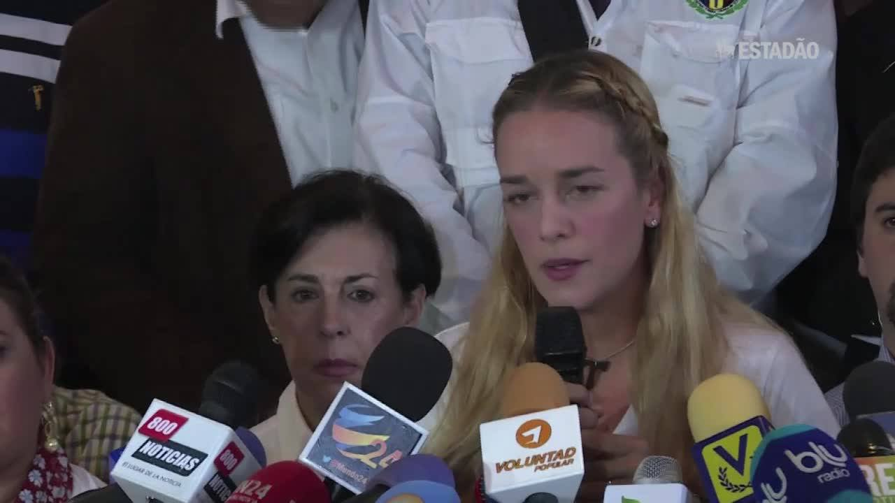 'Querem me matar', diz esposa de opositor venezuelano