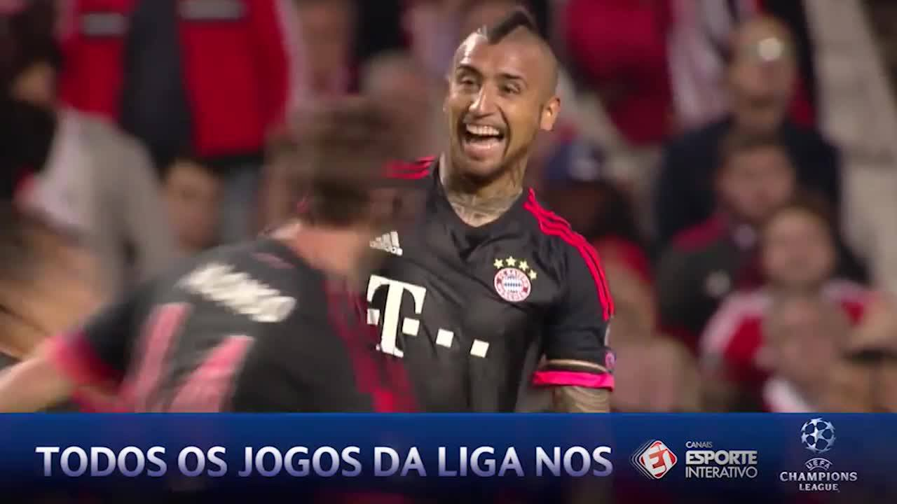 Benfica 2x2 Bayern - Champions League