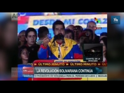 Maduro venceu eleições, mas foi derrotado