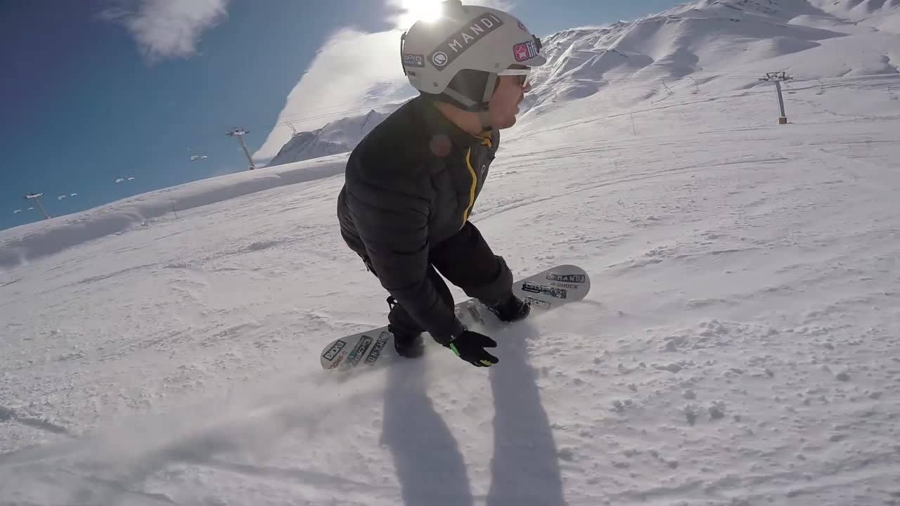 Esqui na Argentina: de inciantes a experts
