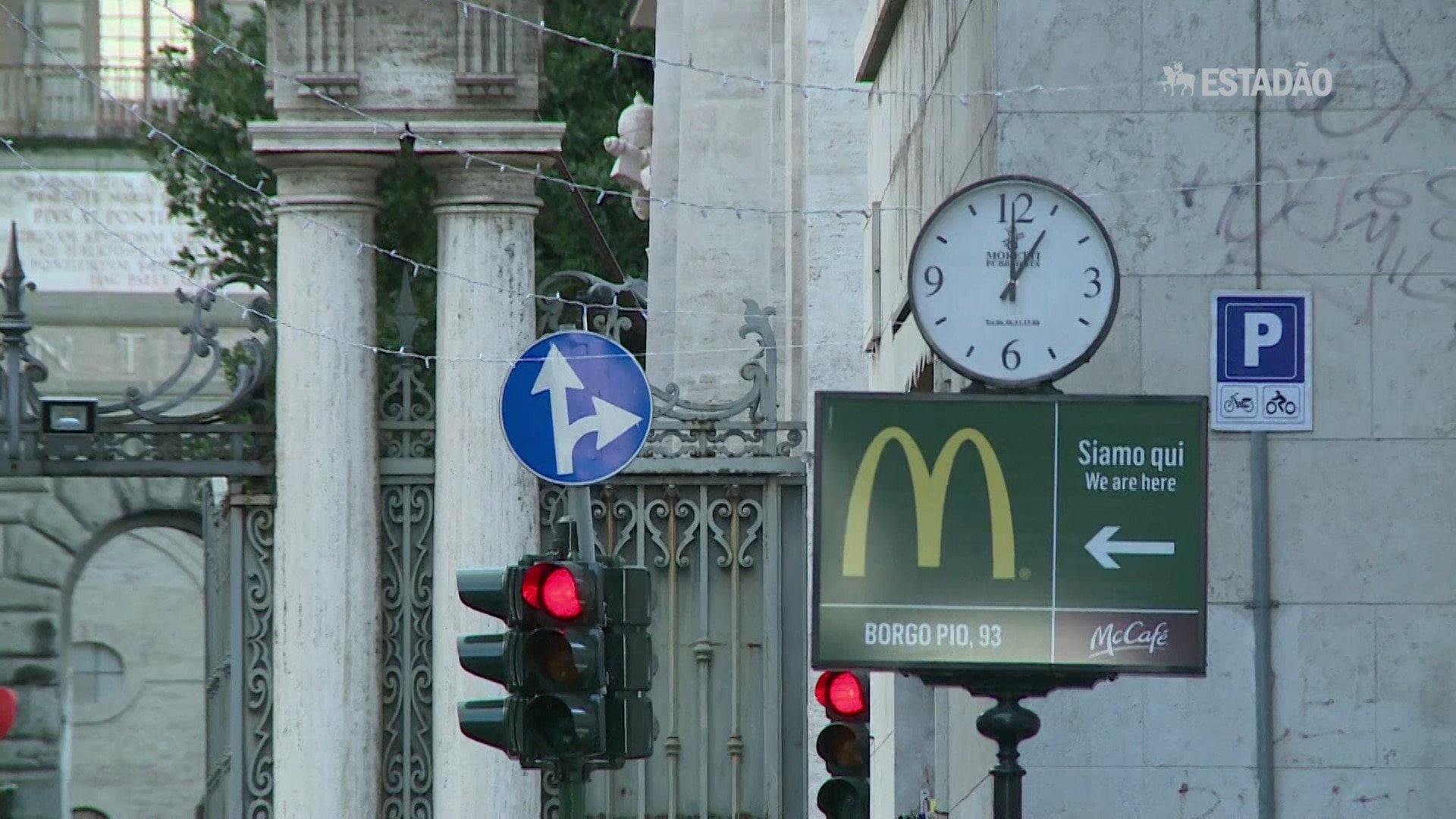 McDonald's abre restaurante perto do Vaticano