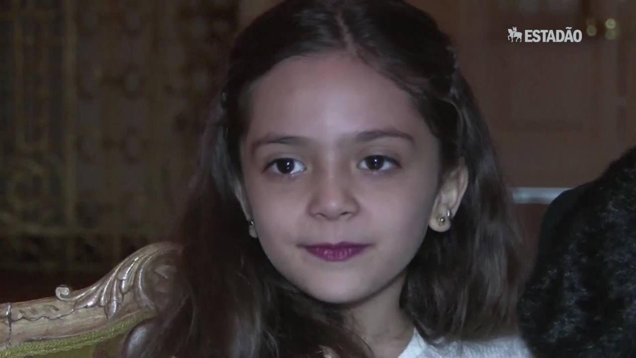 Menina síria escreve carta para Trump