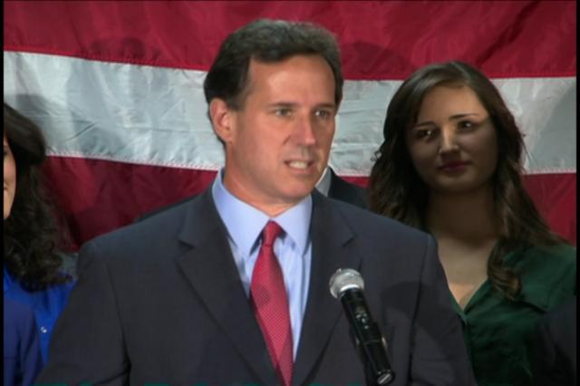 Rick Santorum desiste da Casa Branca