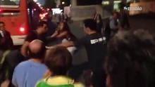Casal é hostilizado em manifestação contra Lula na Av. Paulista