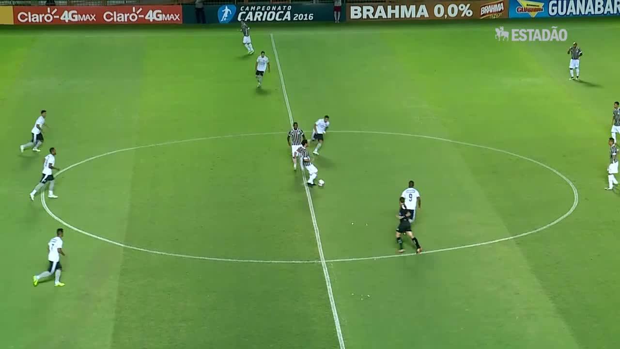 Botafogo vence o Fluminense por 1 a 0