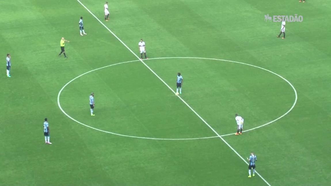 Grêmio derrota o São Paulo em casa por 1 a 0