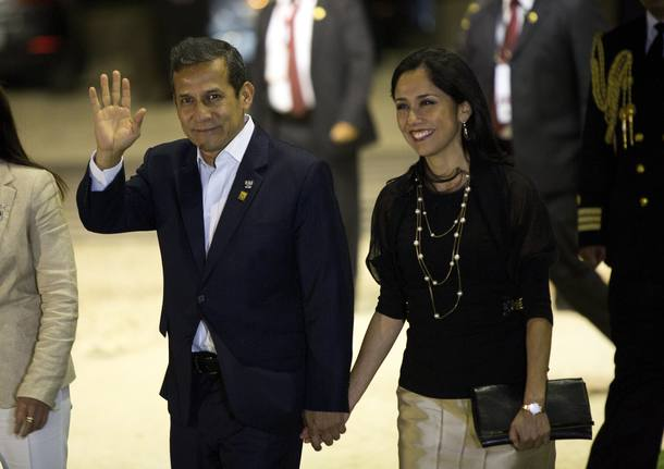 Resultado de imagem para Ollanta Humala e sua mulher, Nadine Heredia