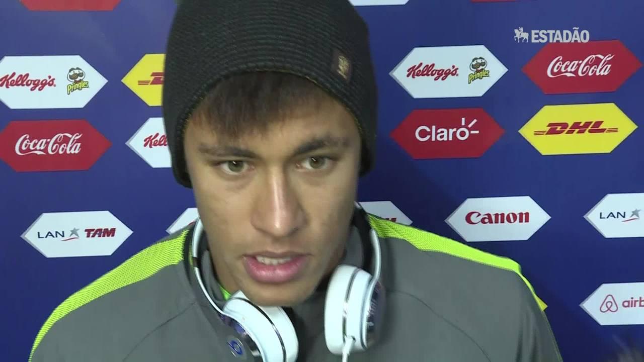 Neymar prevê jogo difícil contra a Colômbia
