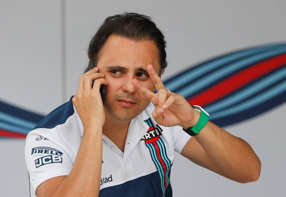 Felipe Massa, piloto da Williams