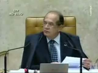 Discussão entre ministros do Supremo Tribunal Federal