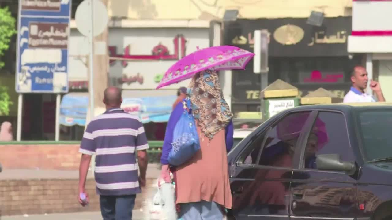 Egito registra 47º graus
