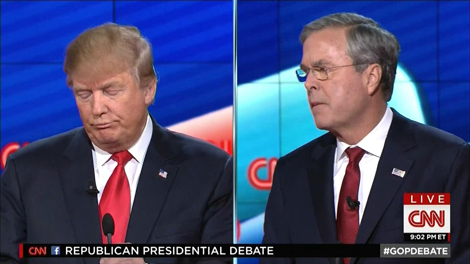 Jeb Bush: 'Trump será um presidente caos'