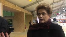 """Dilma sobre Delcídio: """"fiquei perplexa"""""""