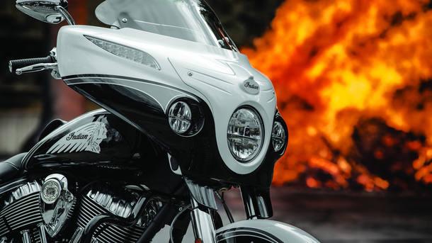 Moto Indian Chieftain Jack Daniel's edition tem estoque esgotado após 10 minutos