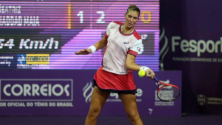 Depois de um 2013 difícil, Bia participou do WTA de Florianópolis no ano passado