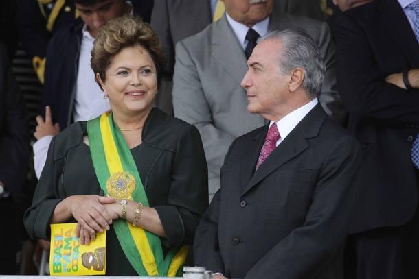 Chapa Dilma-Temer será julgada pelo TSE