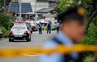 Policiais vigiam clínica para deficientes onde homem matou 19 pacientes na terça-feira