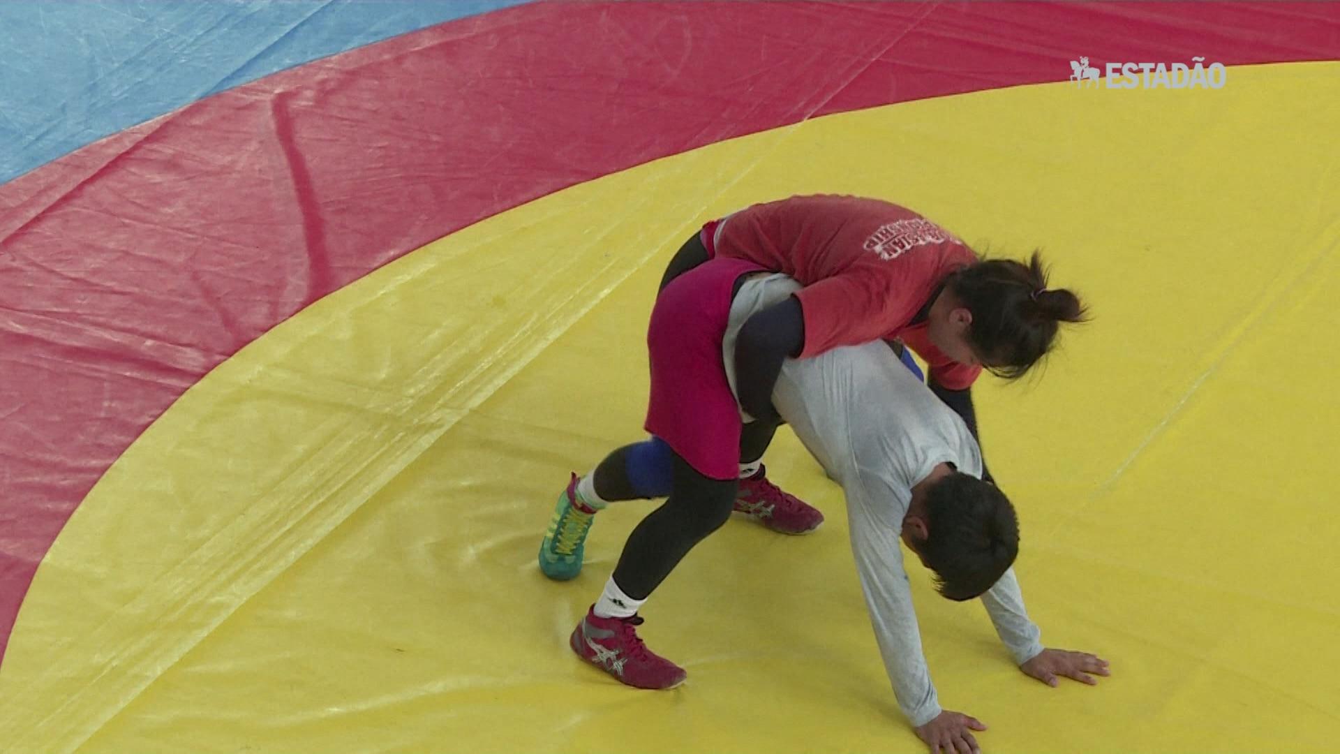 Mongólia quer o ouro feminino na luta livre