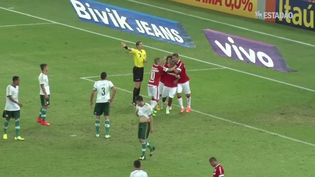 Inter vence o Palmeiras por 3 a 1 e garante vaga na Libertadores