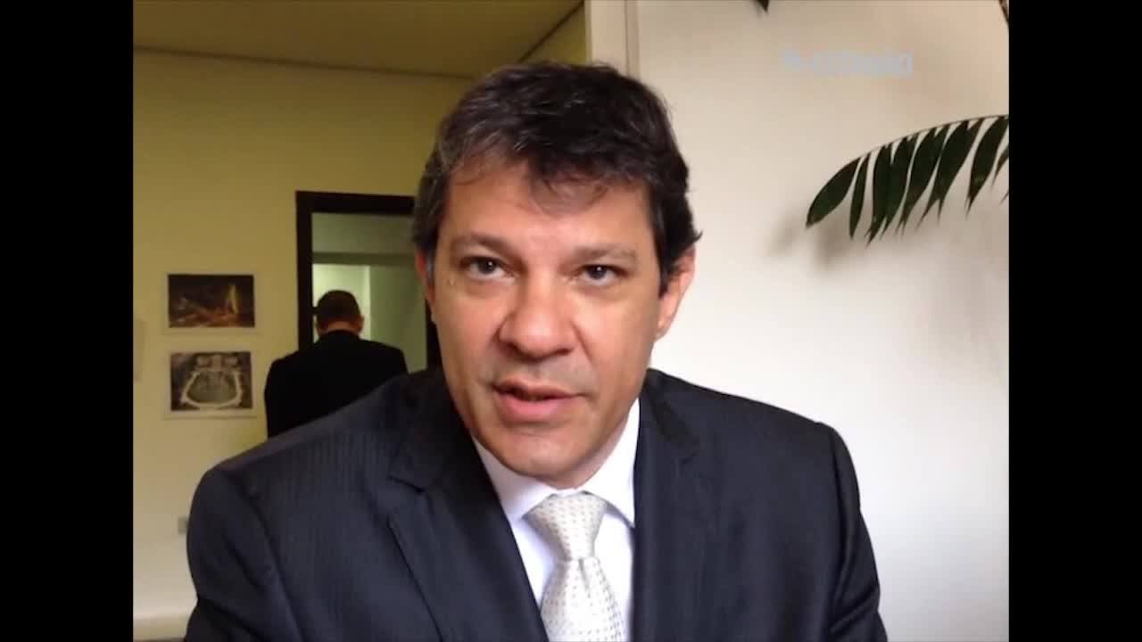 Para Haddad, processo contra a União sobre as dívidas é para dar 'segurança jurídica'