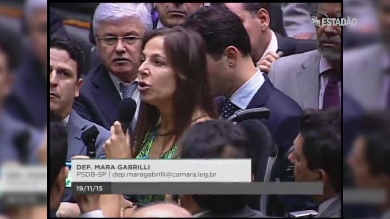 Mara Gabrilli cobra saída de Cunha
