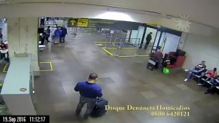 Vídeo mostra assassinato a tiros no aeroporto de Porto Alegre