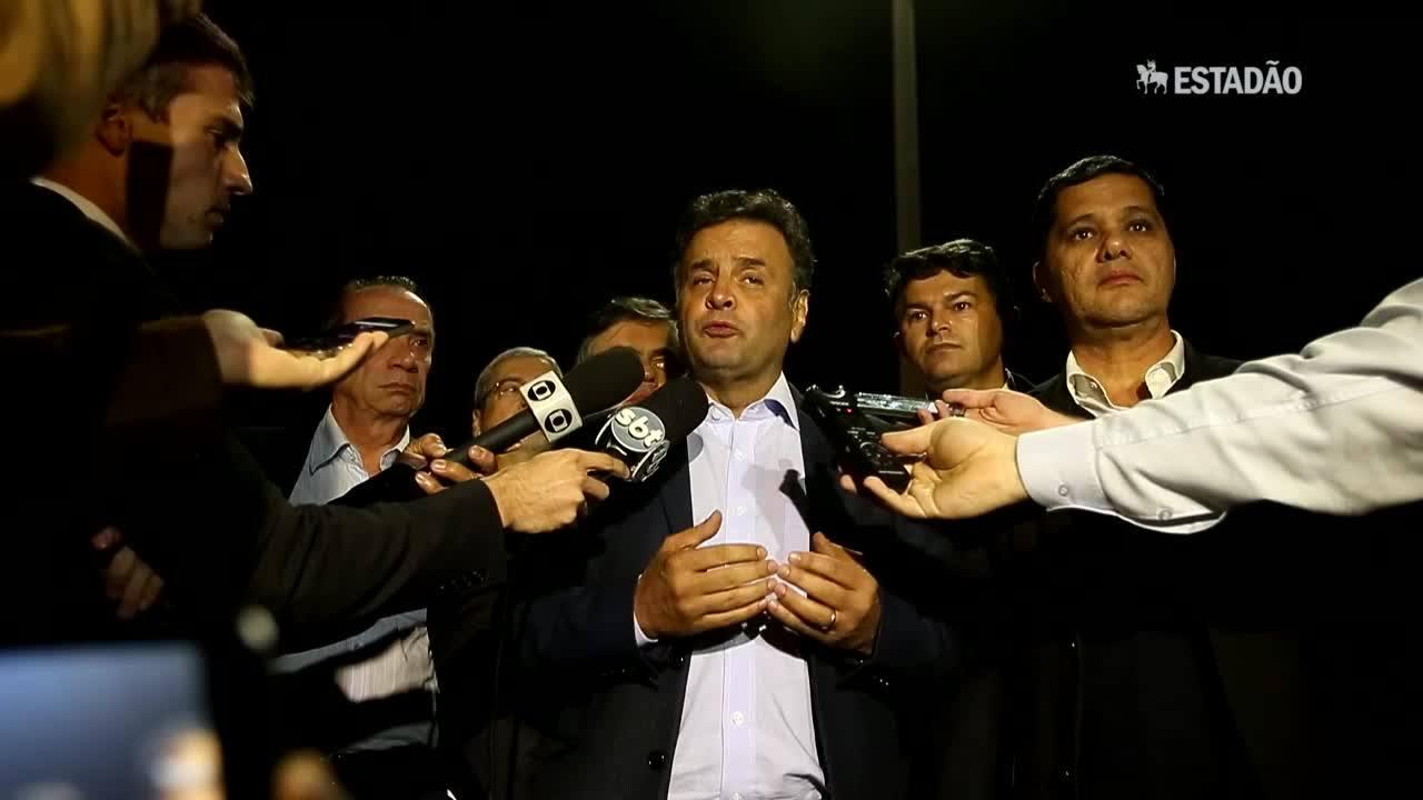 Senadores vão exigir resposta dura do governo a hostilidade na Venezuela, diz Aécio