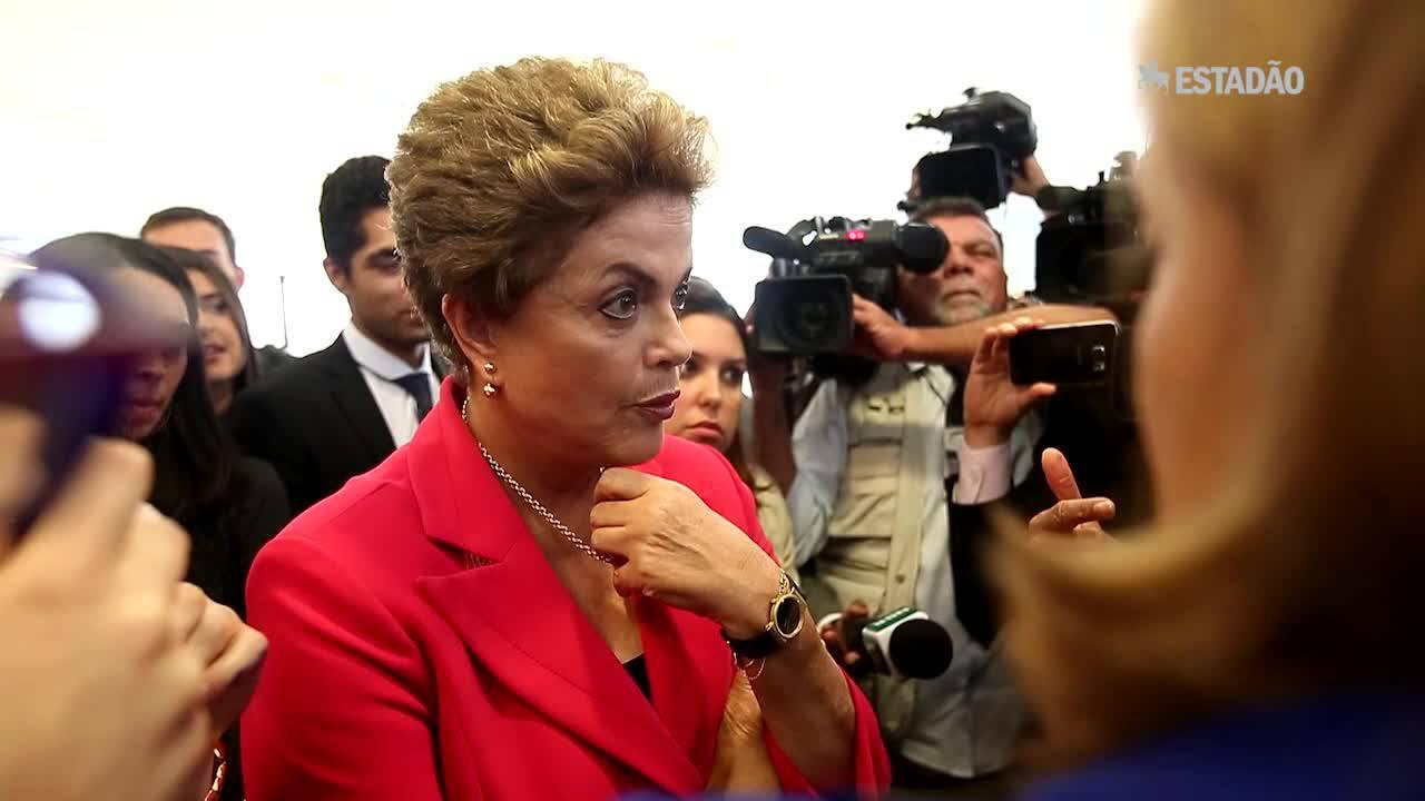 Em momento de descontração, Dilma fala sobre dieta