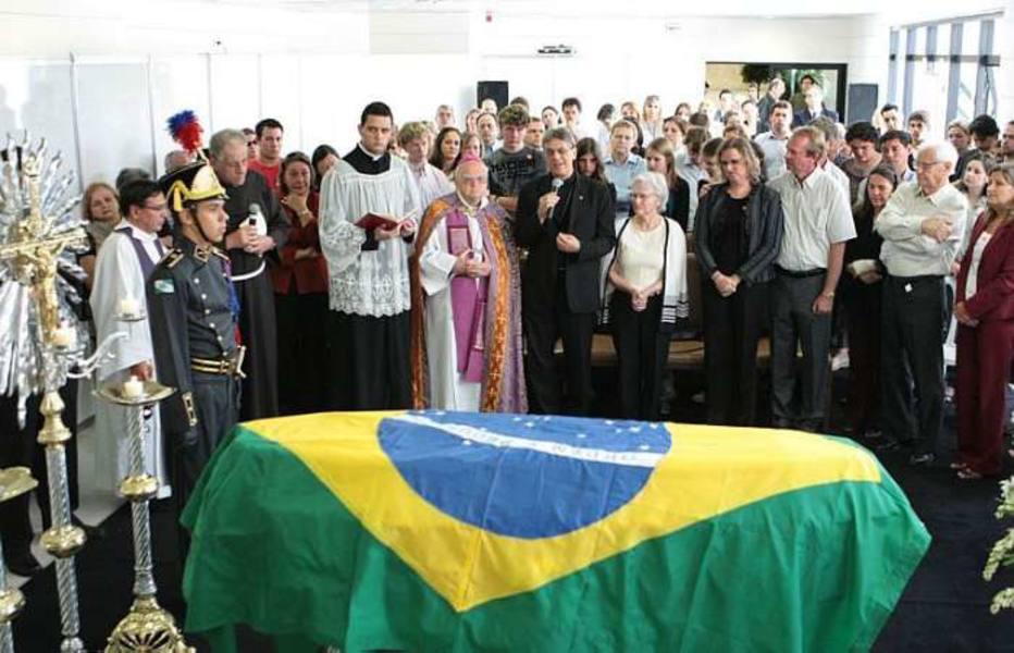 Velório da Dra. Zilda Arns no Palácio do Governo do Paraná, em Curitiba