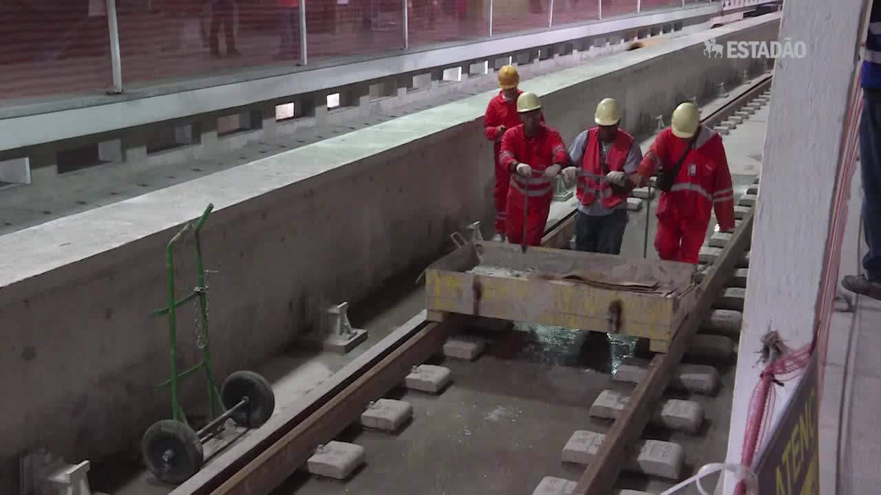 Linha 4 do metrô do Rio entra na etapa final