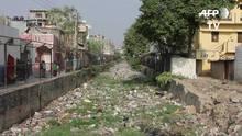 Como a 'Cidade dos Jardins' indiana se encheu de lixo