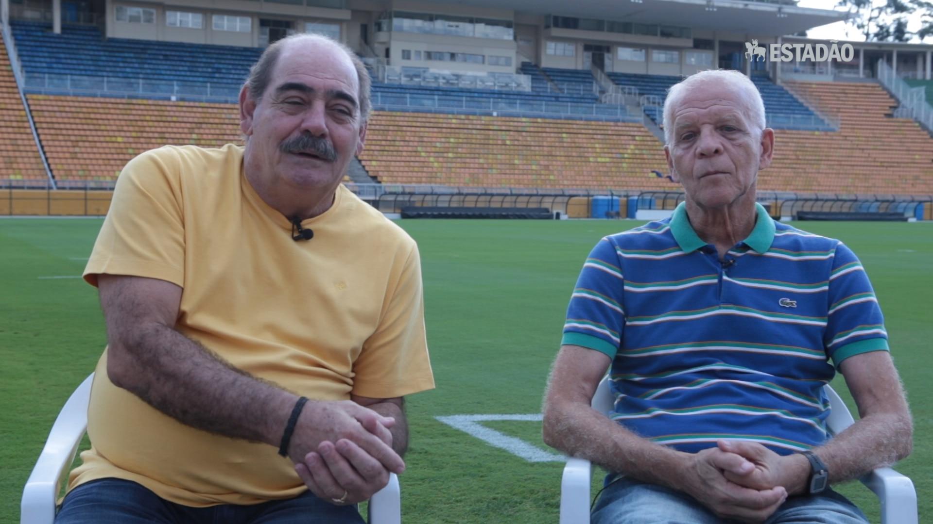 Ademir da Guia e Rivellino relembram histórias dos clássicos entre Corinthians e Palmeiras