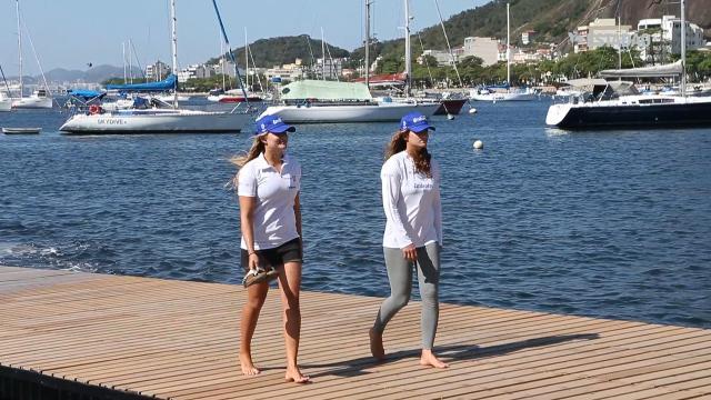 Martine Grael e Kahena Kunze entram para a história da vela