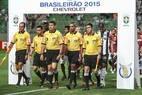 Arbitragem de Marcelo de Lima Henrique foi criticada portorcedores e diretoresdo Atlético-MG após a derrota para o Atlético-PR