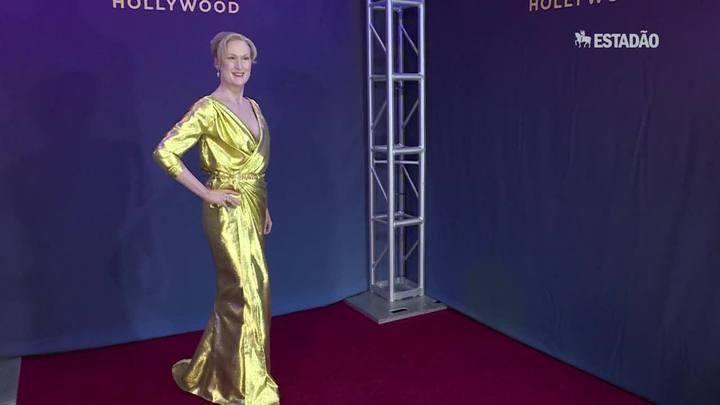 Estátua de cera de Meryl Streep é renovada em Hollywood