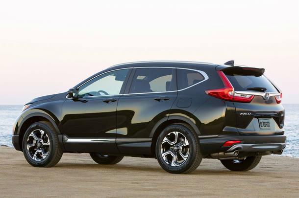 Novo Honda CR-V em detalhes
