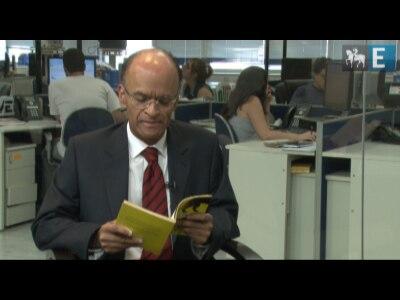 Rinaldo Gama lê trecho de Panteros, romance de Décio Pignatari