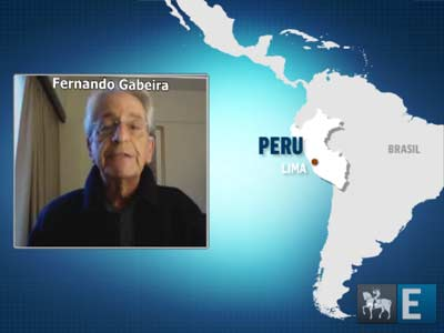 Fernando Gabeira analisa disputa à presidência do Peru