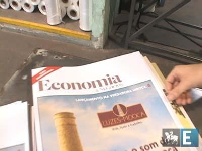 """Making of do """"jornal falante"""""""