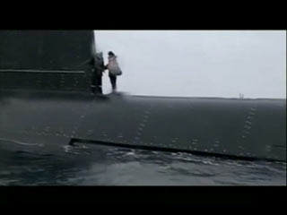 Submarino francês no resgate à caixa-preta