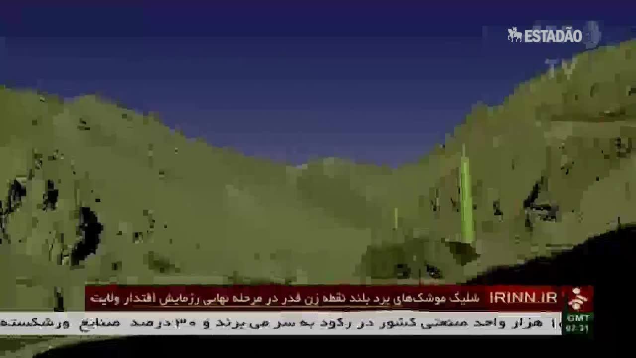 Irã testa novos mísseis balísticos